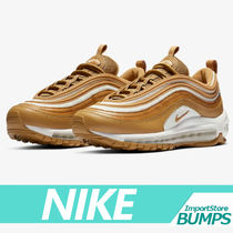Nike AIR MAX 97 Street Style Collaboration Plain Low-Top Sneakers