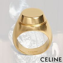 CELINE Plain Metal Rings