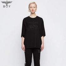 BOY LONDON Crew Neck Unisex Street Style Cropped Other Animal Patterns