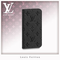 Louis Vuitton MONOGRAM EMPREINTE Unisex Leather Smart Phone Cases