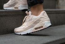 Nike AIR MAX 90 Rubber Sole Casual Style Unisex Blended Fabrics Street Style