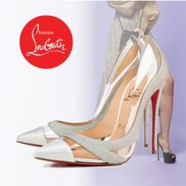 Christian Louboutin Pin Heels PVC Clothing Stiletto Pumps & Mules