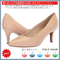 Cole Haan Leather Pin Heels Elegant Style Stiletto Pumps & Mules