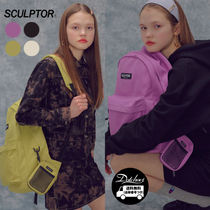 SCULPTOR A4 Plain Backpacks