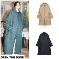 OPEN THE DOOR Trench Coats