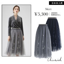 Chicwish Star Medium Midi Skirts