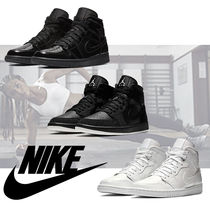Nike Rubber Sole Casual Style Street Style Plain Leather