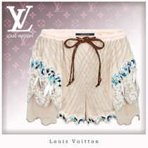 Louis Vuitton Short Silk Shorts