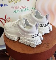 Dolce & Gabbana Rubber Sole Casual Style Street Style Dad Sneakers Logo