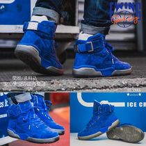 Ewing Athletics Suede Street Style Collaboration Plain Sneakers