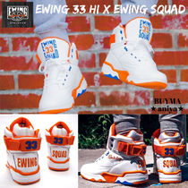 Ewing Athletics Street Style Collaboration Sneakers