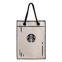 STARBUCKS Casual Style Blended Fabrics Street Style A4 2WAY Totes