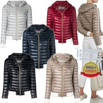 HERNO Short Stripes Plain Down Jackets