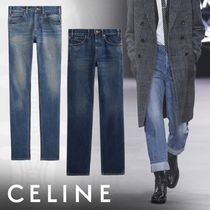 CELINE Denim Street Style Plain Skinny Fit Jeans & Denim