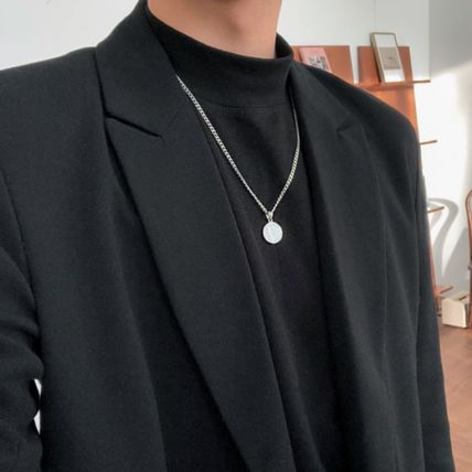 Unisex Street Style Stainless Necklaces & Chokers