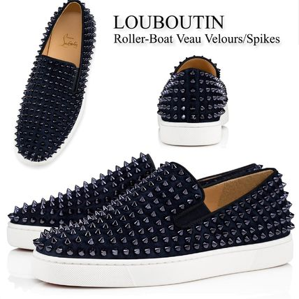 quality design 6b4f4 9655f Christian Louboutin 2019 SS Sneakers (Roller-Boat Veau Velours/Spikes,  1120387V088)
