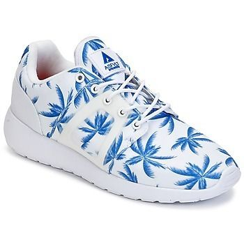 Tropical Patterns Logo Low-Top Sneakers
