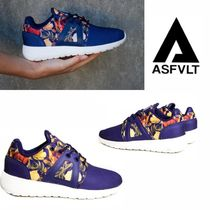 ASFVLT Tropical Patterns Low-Top Sneakers
