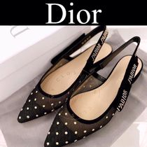 Christian Dior JADIOR Dots Casual Style Blended Fabrics Street Style Logo
