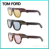 TOM FORD Unisex Street Style Round Sunglasses