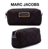 MARC JACOBS THE MARC JACOBS Nylon Street Style Plain Pouches & Cosmetic Bags