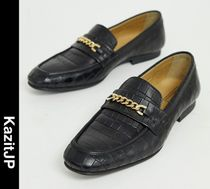 ASOS Loafers Chain Leather Loafers & Slip-ons