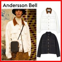 ANDERSSON BELL Casual Style Unisex Street Style Oversized Jackets
