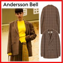 ANDERSSON BELL Casual Style Unisex Street Style Jackets