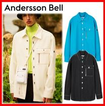 ANDERSSON BELL Street Style Cotton Oversized Shirts