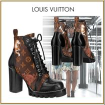 Louis Vuitton MONOGRAM Monogram Plain Toe Blended Fabrics Other Animal Patterns