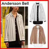 ANDERSSON BELL Street Style Oversized Shirts