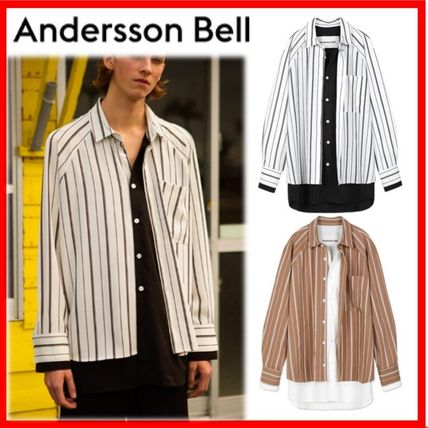 ANDERSSON BELL Shirts Street Style Oversized Shirts