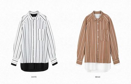 ANDERSSON BELL Shirts Street Style Oversized Shirts 2