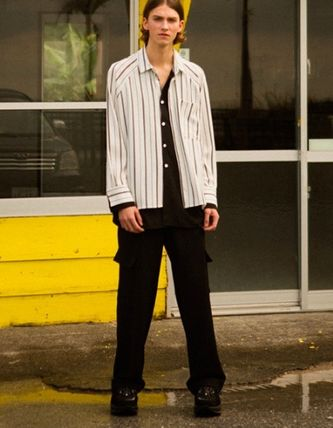 ANDERSSON BELL Shirts Street Style Oversized Shirts 3