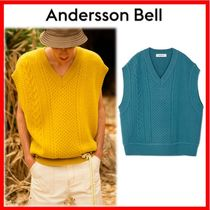 ANDERSSON BELL Unisex Street Style Oversized Vests & Gillets
