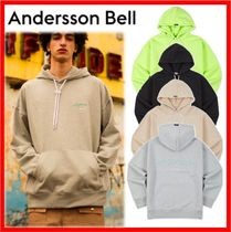 ANDERSSON BELL Unisex Street Style Cotton Hoodies & Sweatshirts