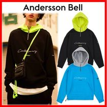 ANDERSSON BELL Unisex Street Style Cotton Hoodies