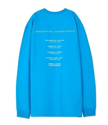 ANDERSSON BELL Long Sleeve Unisex Street Style Long Sleeves Cotton Long Sleeve T-Shirts 13