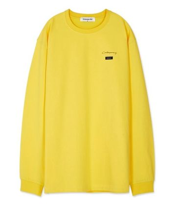 ANDERSSON BELL Long Sleeve Unisex Street Style Long Sleeves Cotton Long Sleeve T-Shirts 14