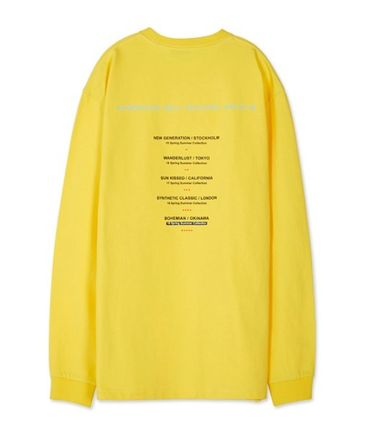 ANDERSSON BELL Long Sleeve Unisex Street Style Long Sleeves Cotton Long Sleeve T-Shirts 15