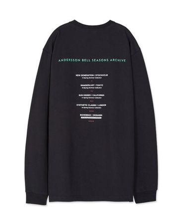ANDERSSON BELL Long Sleeve Unisex Street Style Long Sleeves Cotton Long Sleeve T-Shirts 19