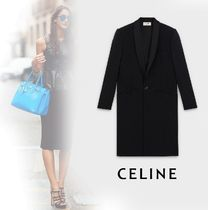 CELINE Wool Chester Coats
