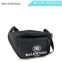 BALENCIAGA Nylon Plain Hip Packs