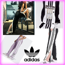 adidas Stripes Casual Style Street Style Pants