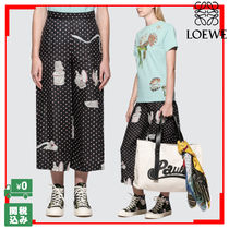 LOEWE Dots Casual Style Culottes & Gaucho Pants