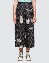 LOEWE Dots Casual Style Culottes