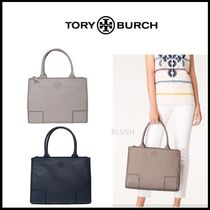 Tory Burch A4 Plain Leather Totes