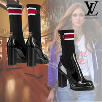 Louis Vuitton Rubber Sole Ankle & Booties Boots