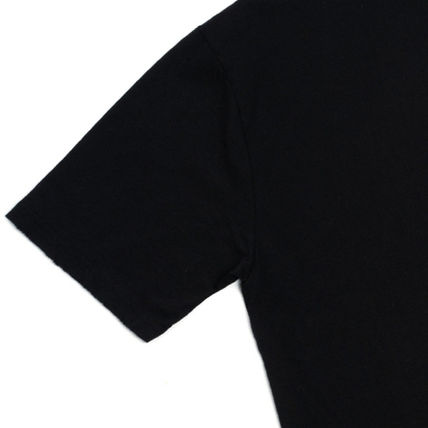 Crew Neck Crew Neck Unisex Street Style Plain Cotton Short Sleeves 13