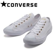 CONVERSE ALL STAR Casual Style Unisex Low-Top Sneakers